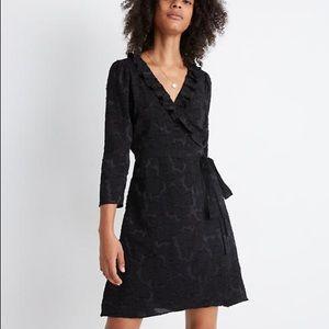 NWT Madewell Ruffled Wrap Dress